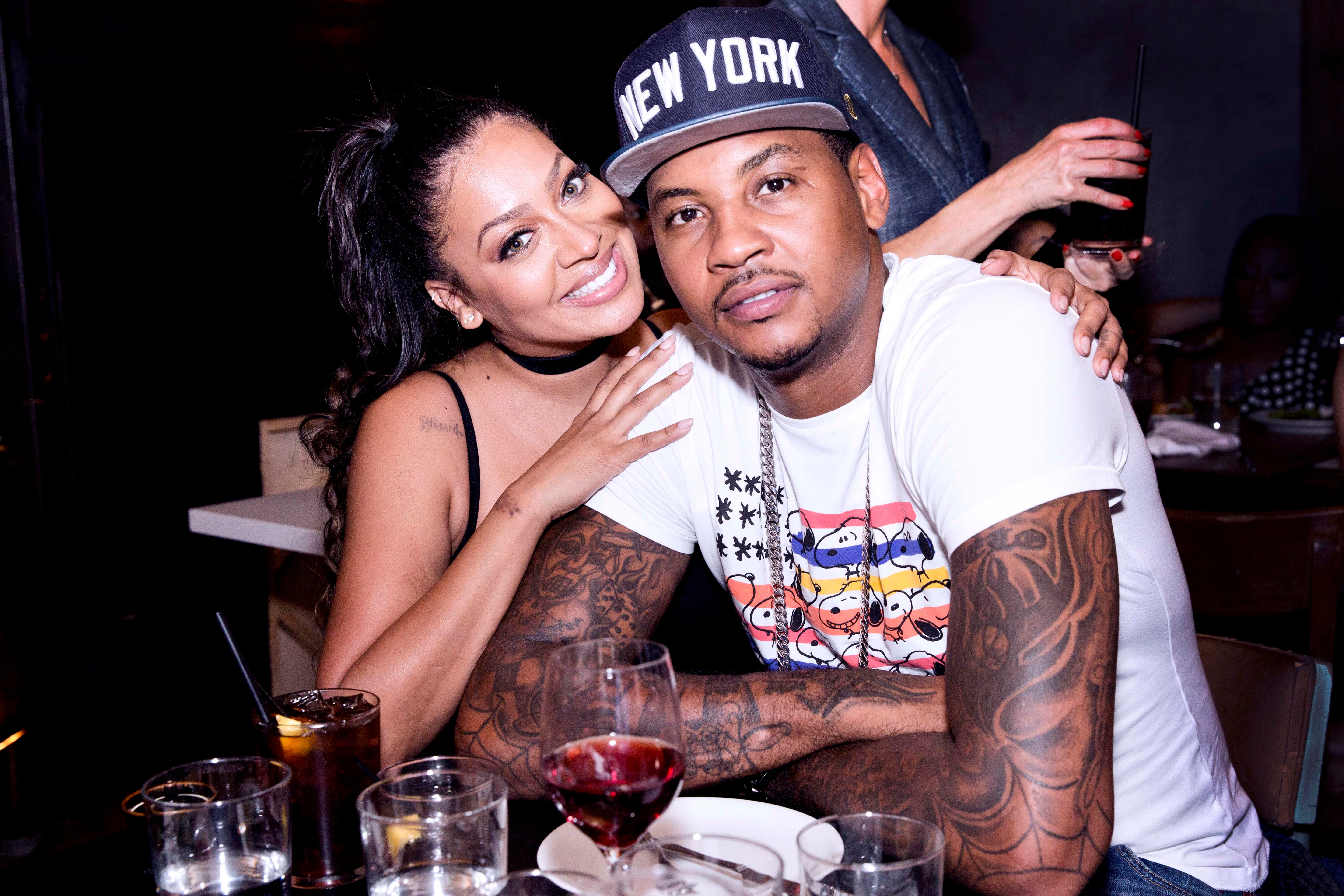 LaLa Anthony's Valentine's Day Message To Her Husband, Carmelo Anthony, Came With A Warning
