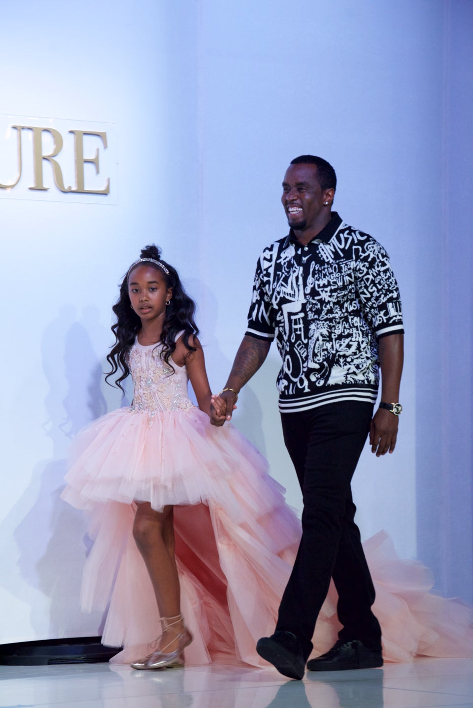 WATCH: Diddy's Christmas Gift For His Daughter Chance Moved Her To Happy Tears