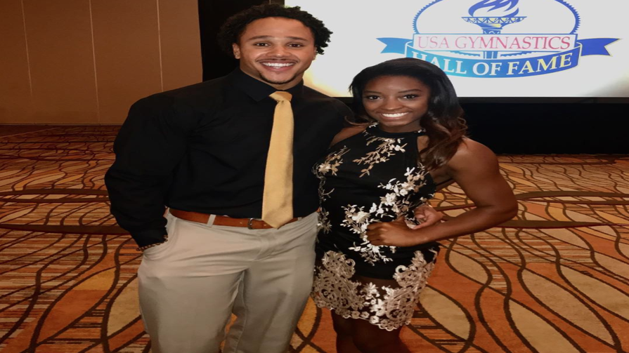 Simone Biles Debuts As Honorary Houston Texans Cheerleader — And Her Boyfriend Is Her No. 1 Fan