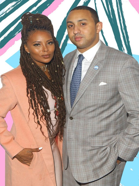 Eva Marcille Shares Adorable Family Photo Debuting Her Baby Boy Michael Sterling Jr.