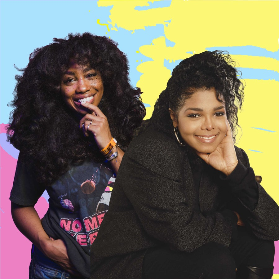 Janet Jackson's Control compared to SZA's CTRL