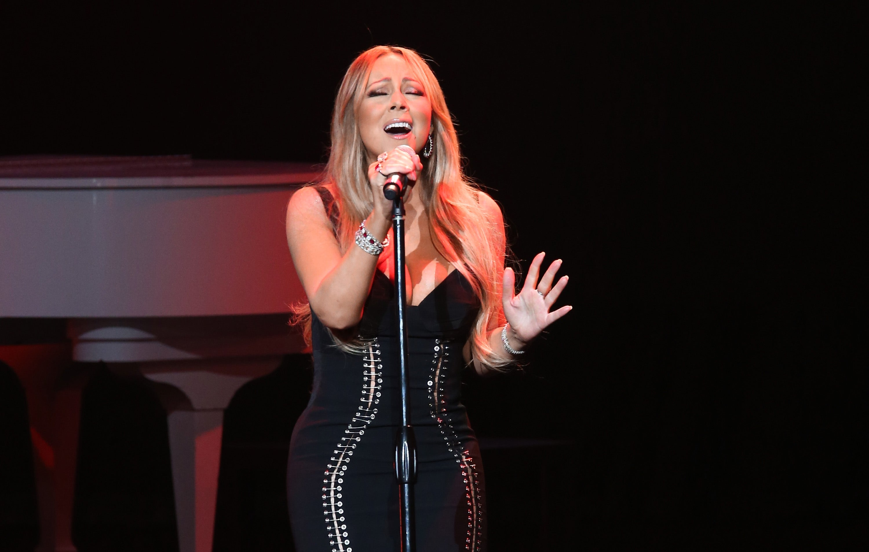 Mariah Carey And Ne-Yo HIV/AIDS Concert