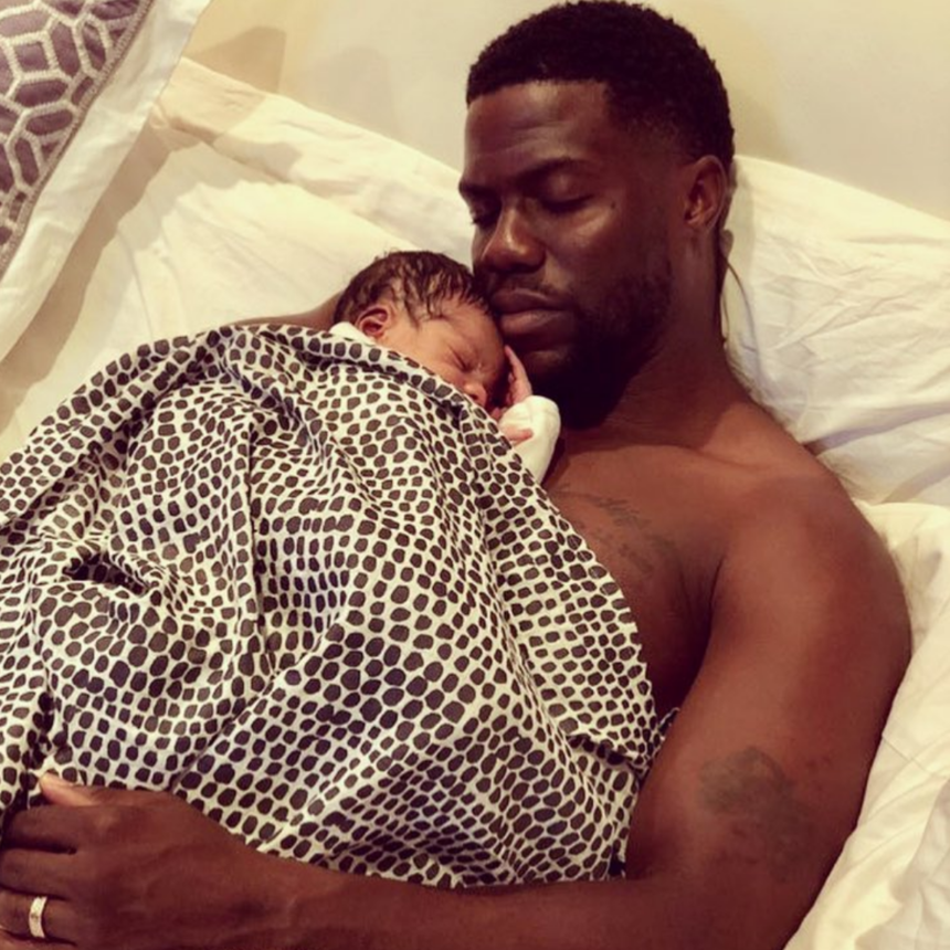 Kevin Hart Jokes He Doesn't Change Son's Diapers: Kenzo Needs A 'Mother's Touch; That's Not A Father's Time'