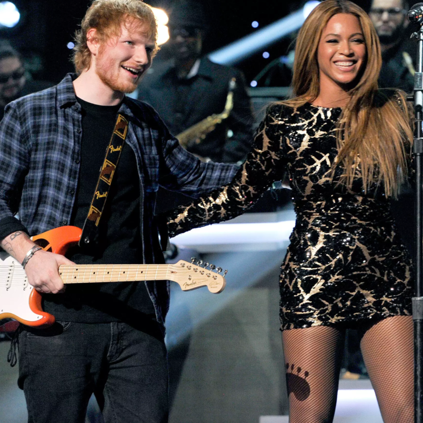 Beyoncé Changes Her Email Address Weekly, Her 'Perfect' Duet Partner Ed Sheeran Reveals