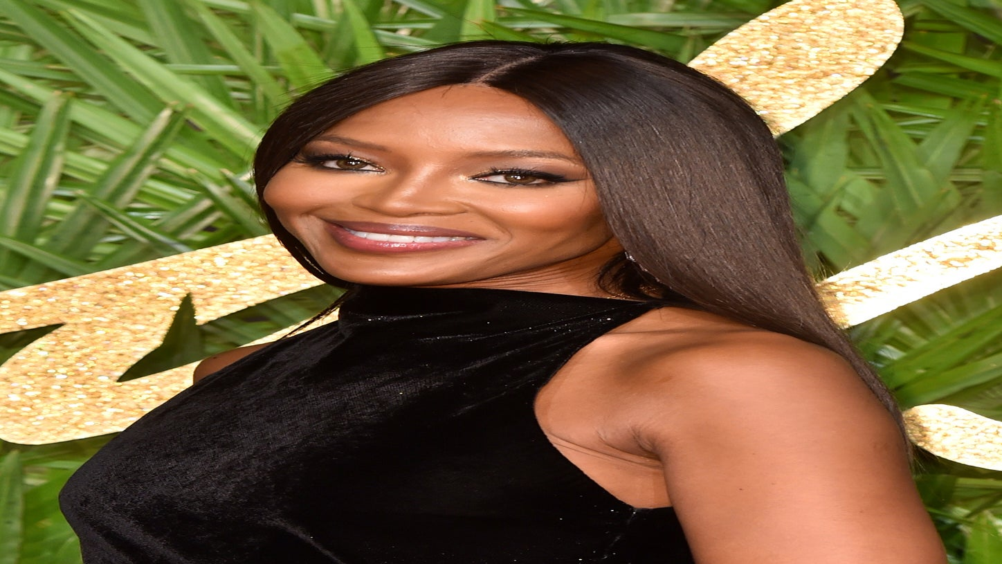 Naomi Campbell Stars In Versace's New Spring Campaign