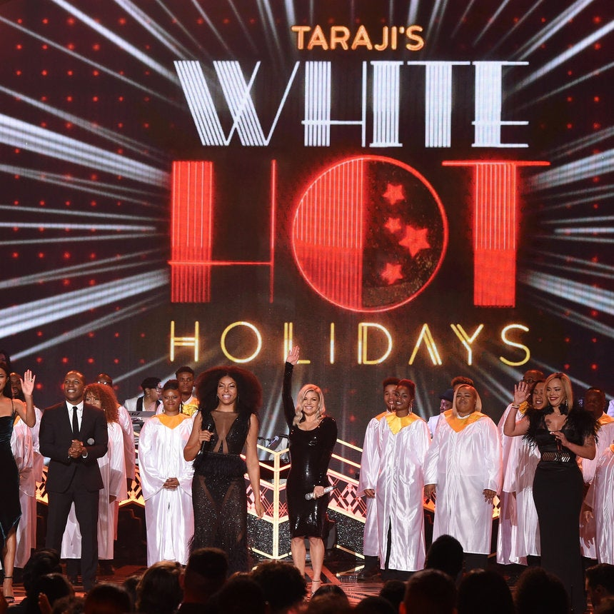 EXCLUSIVE: Get A Glimpse of Taraji's P. Henson's 'White Hot Holidays' Celebration