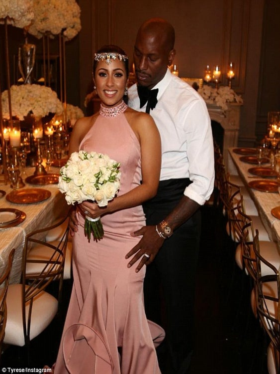 Tyrese And His Wife Are Expecting A Baby Girl