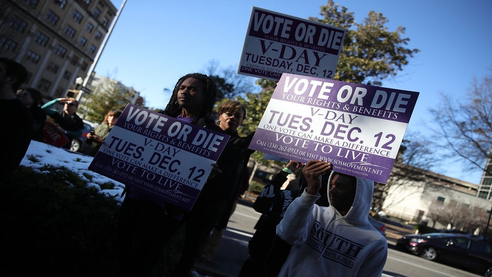 It's Not TheResponsibility Of Black Voters To Save Doug Jones And His Colorblind Policies