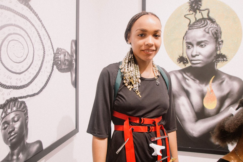 Shani Crowe's Art Basel Exhibit Was A Celebration Of Traditional Black Hair Braiding And Totally Gave Us Life