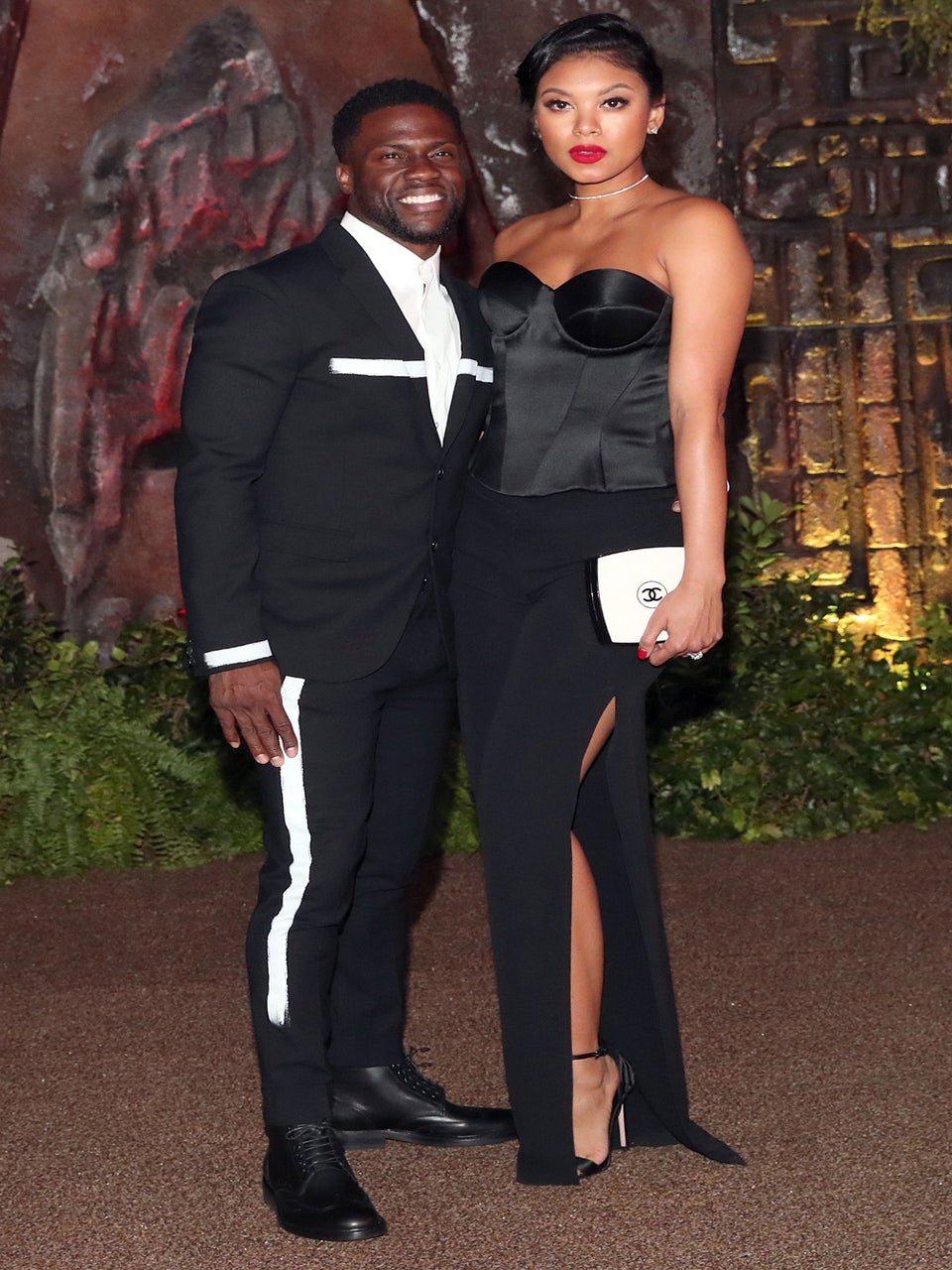 Kevin Hart And Wife Eniko Parrish Make First Red Carpet Appearance Since Welcoming Baby Son