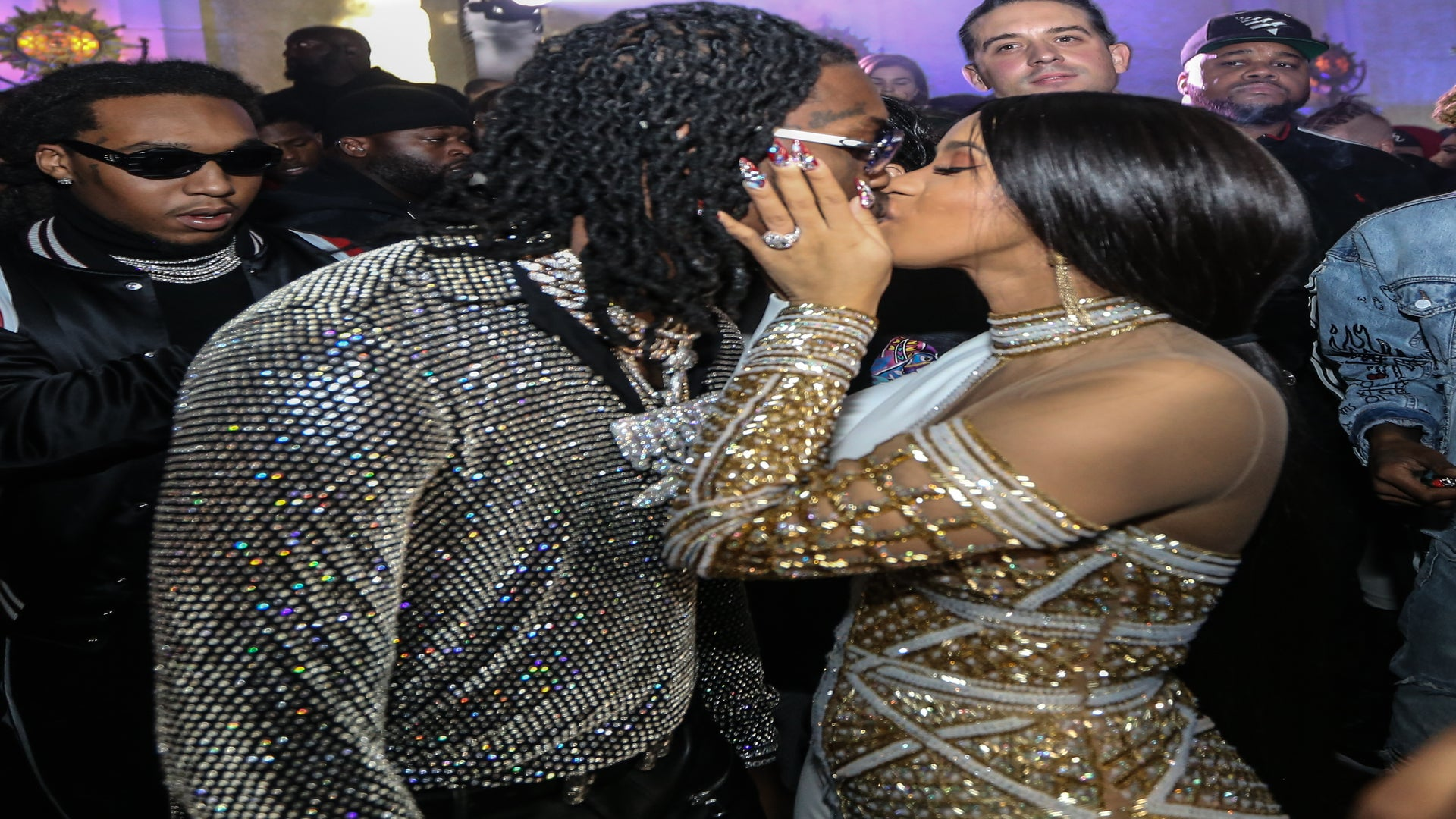 Offset Gives Cardi B a Lamborghini SUV As an Early Birthday Gift