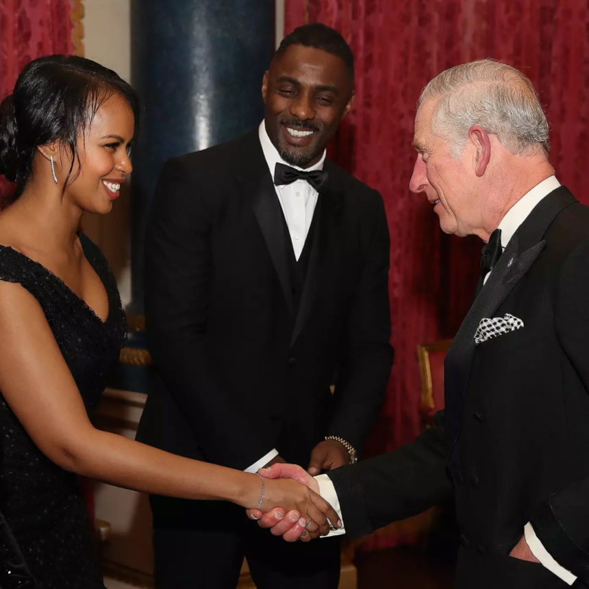 Idris Elba Introduces Girlfriend To Prince Charles After Gushing About Royal-to-Be Meghan Markle