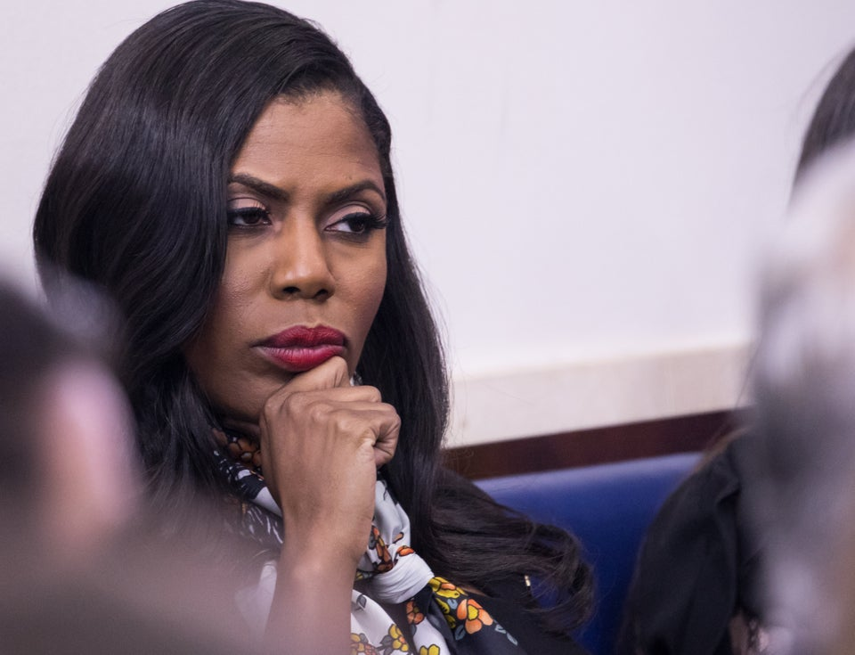 Omarosa Reportedly Fired From The White HouseFor Abusing Car Service