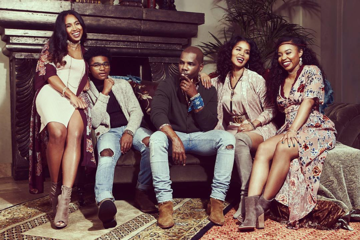 Aww! Kirk Franklin's Family Holiday Photos Are Picture Perfect