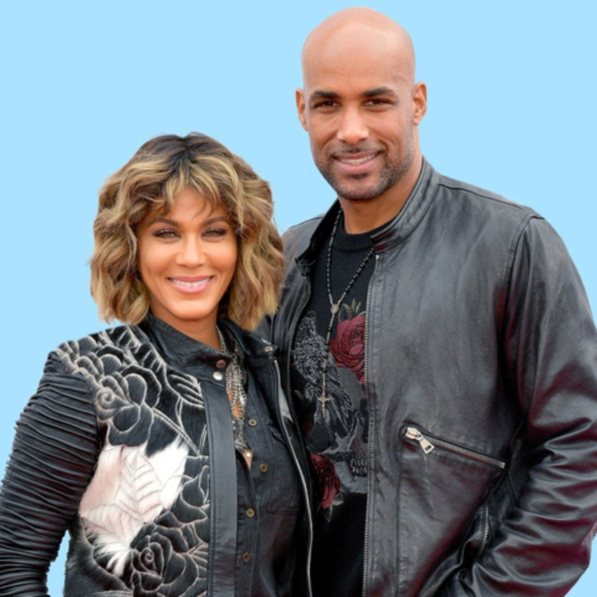 Lucky Lady! Nicole Ari Parker Posts Steamy Flashback Photos Of Her Ageless Hubby Boris Kodjoe