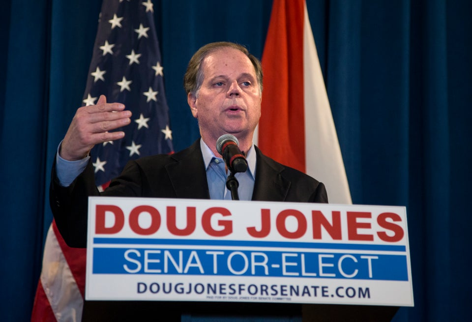 Newly Elected Doug Jones Believes Congress Should Disregard Trump Sexual Misconduct Allegations