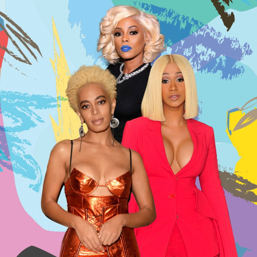 Blonde Hair Won 2017! See The Celebrities Who Rocked It Right
