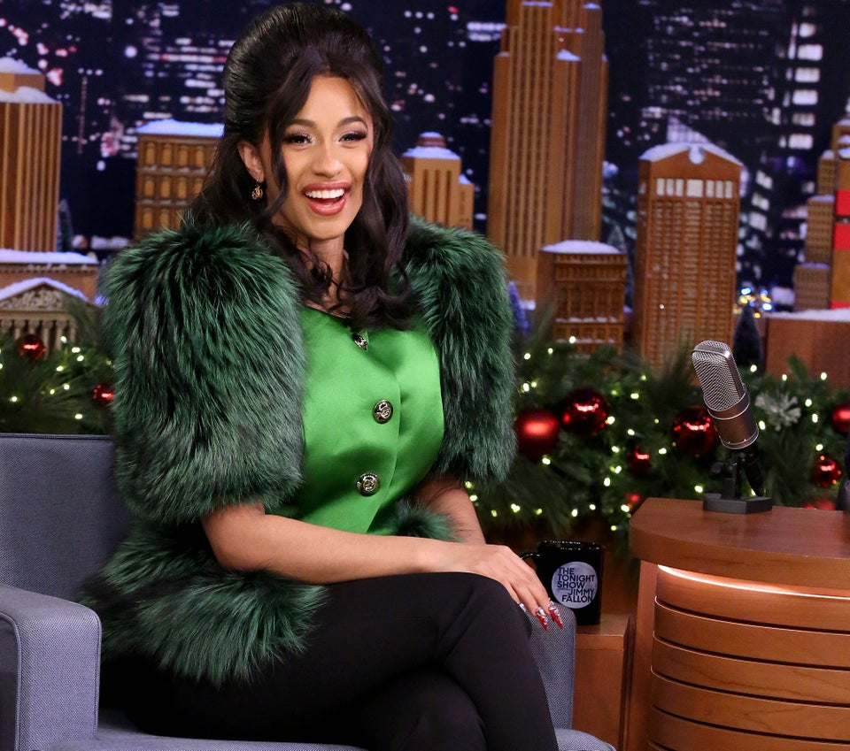 Cardi B Jokes That Everybody Wants Her To Be Their Kids'Godmother Now That She's Making Money