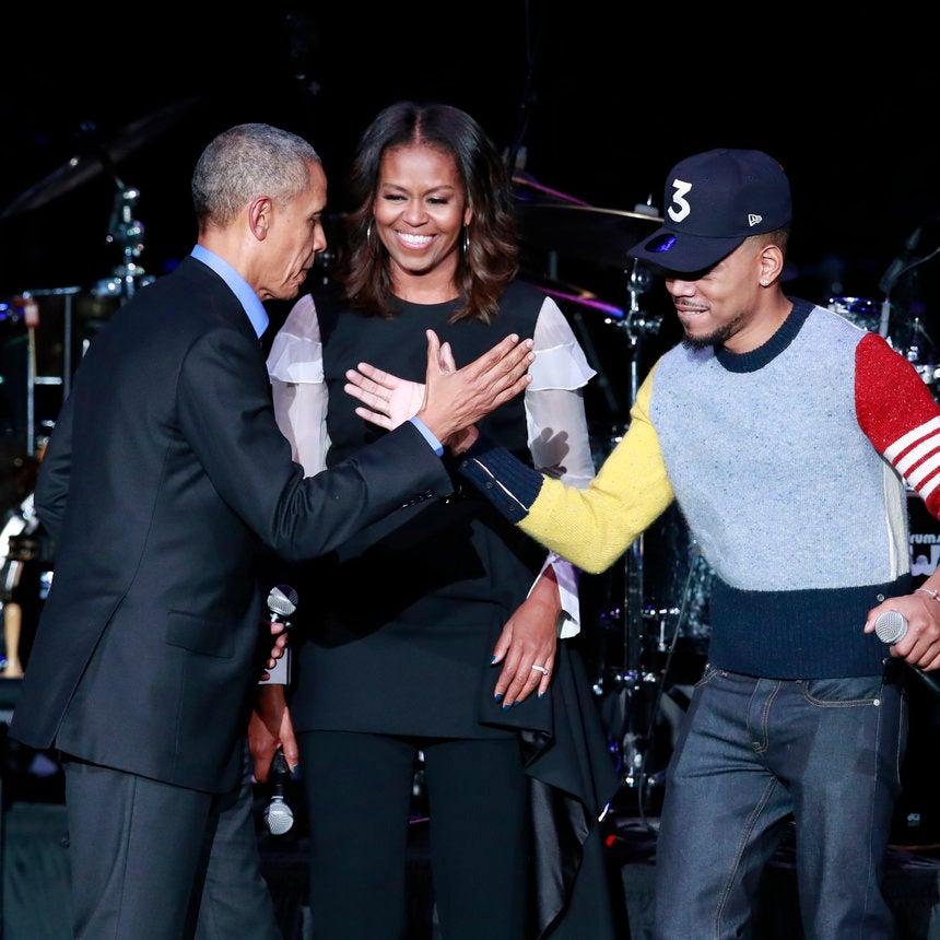 Chance The Rapper & Steph Curry Featured With Barack Obama In New PSA For 'My Brother's Keeper'