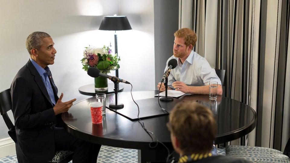 Barack Obama Interviewed By Prince Harry