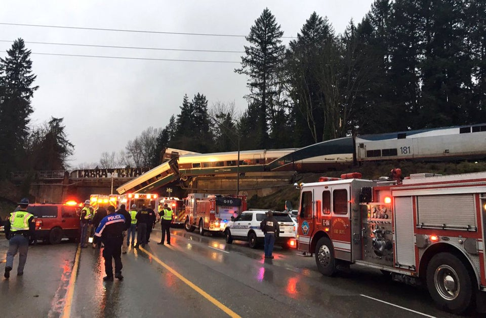 President Trump Proposed A Huge Cut To Rail Spending. Then Blamed The Amtrak Derailment On Poor Infrastructure