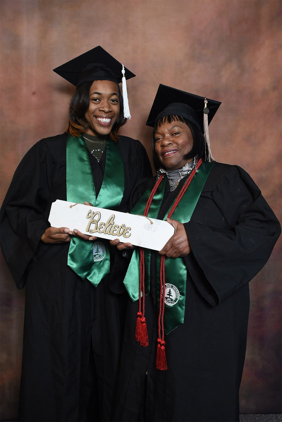 Granddaughter Graduates College Alongside Grandmother Who Raised Her: 'It Meant The World To Me'