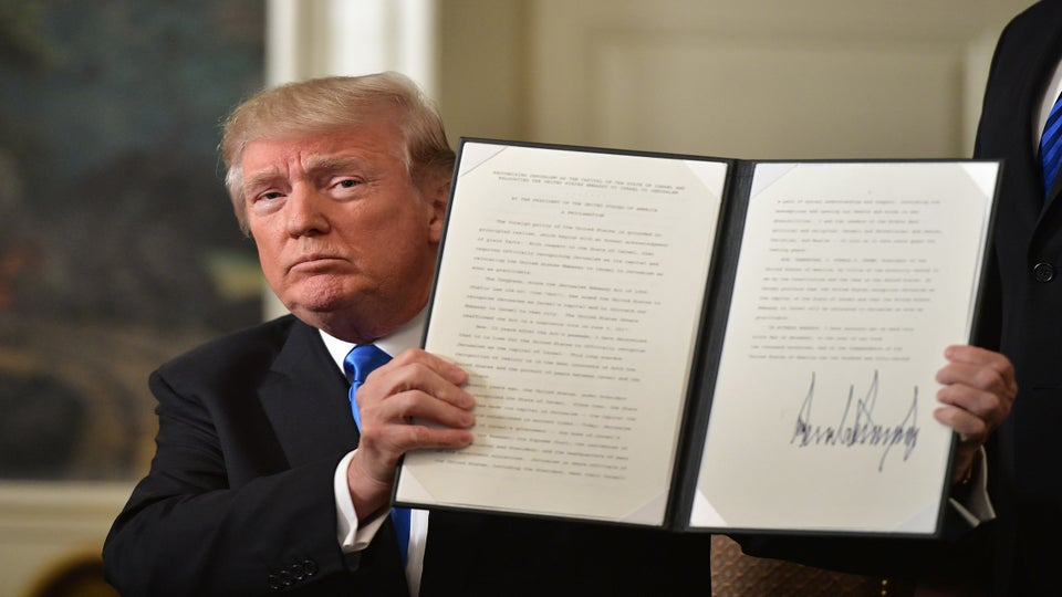 President Trump Recognized Jerusalem As Capital Of Israel. It May Hurt The Peace Process
