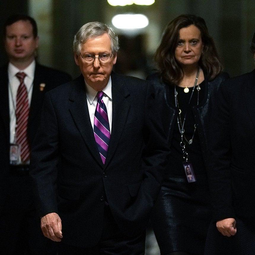 Congress Narrowly Passes Temporary Spending Bill To Avert A Government Shutdown
