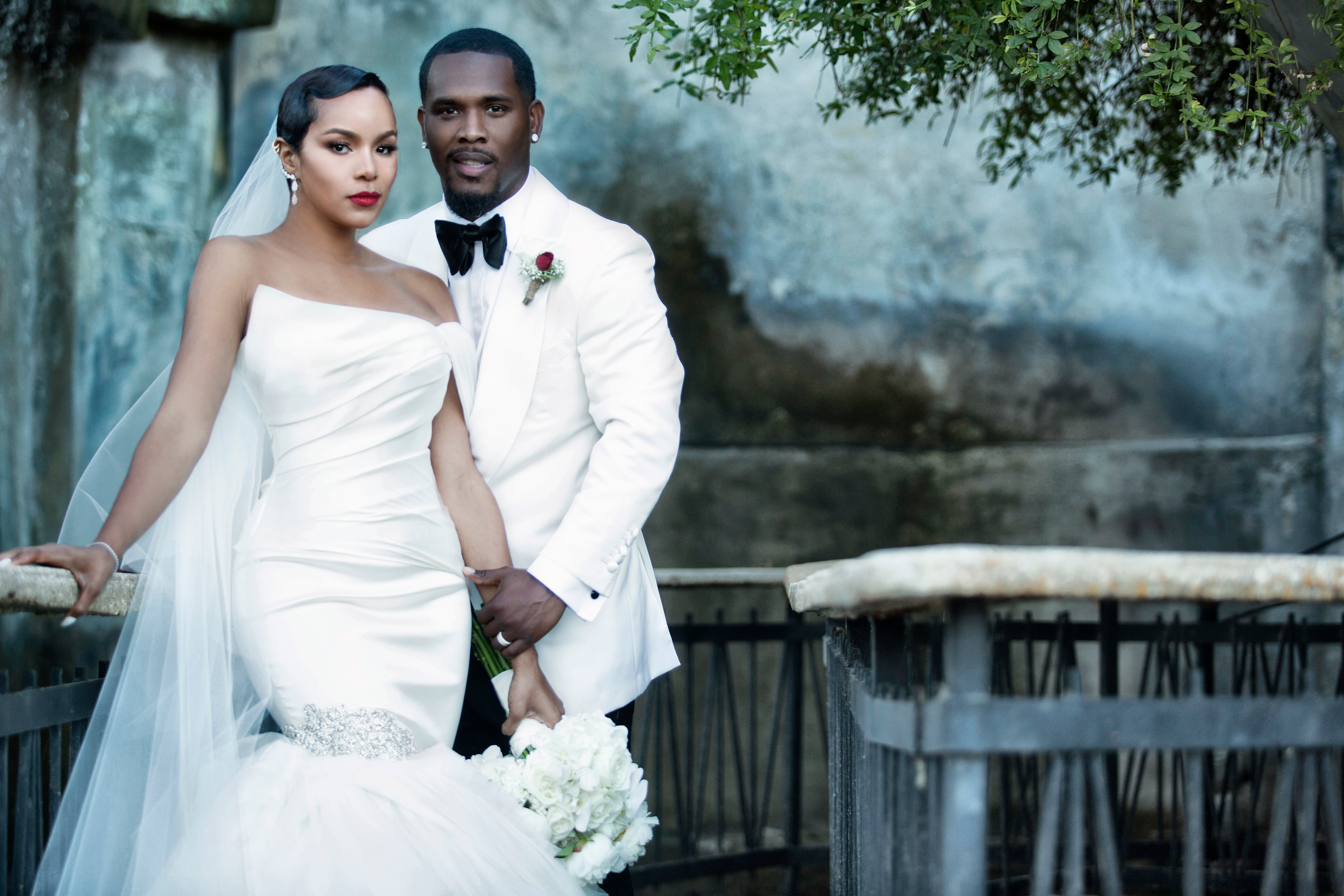 Exclusive See Letoya Luckett S First Wedding Photos Essence