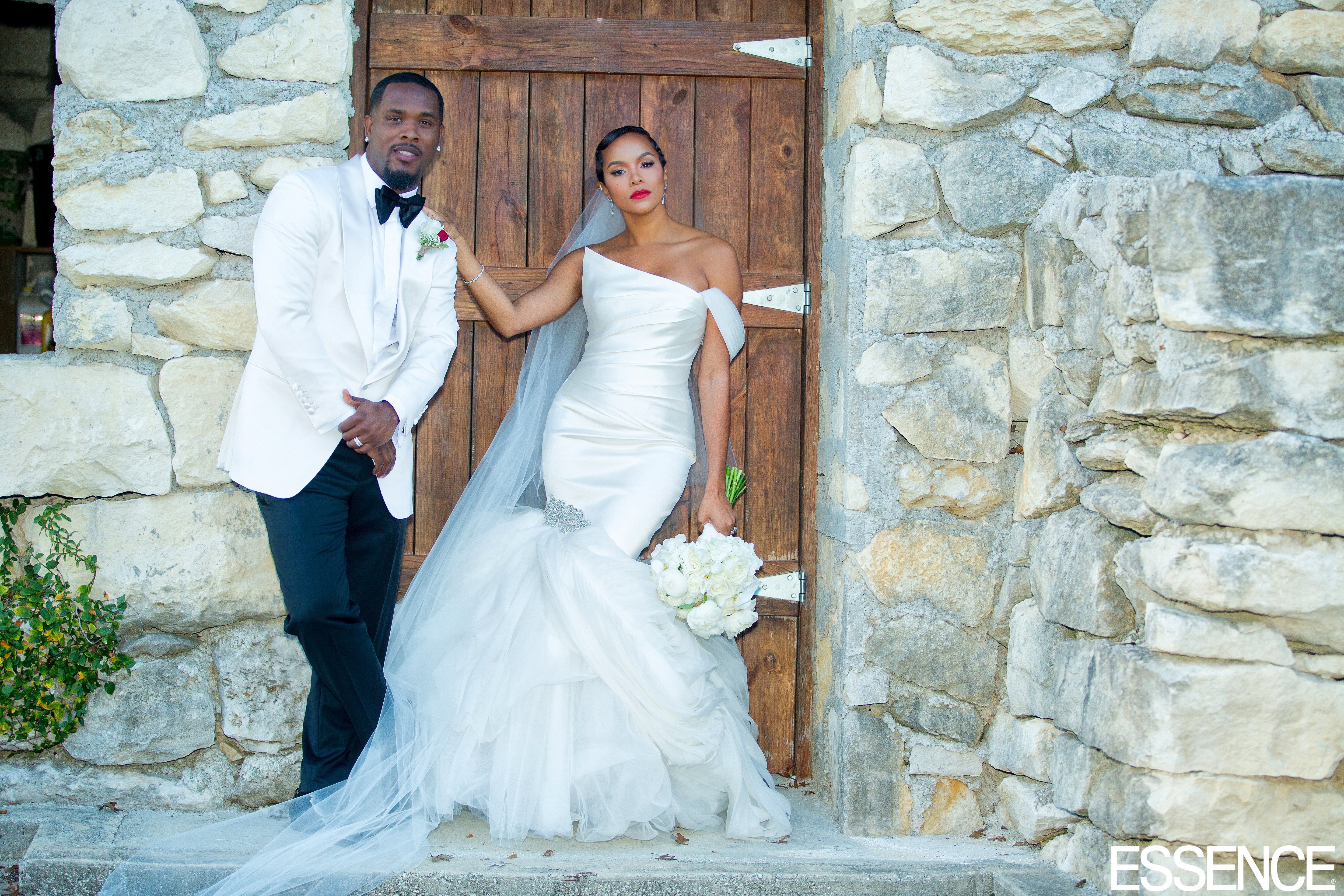 Exclusive: See LeToya Luckett\'s First Wedding Photos - Essence
