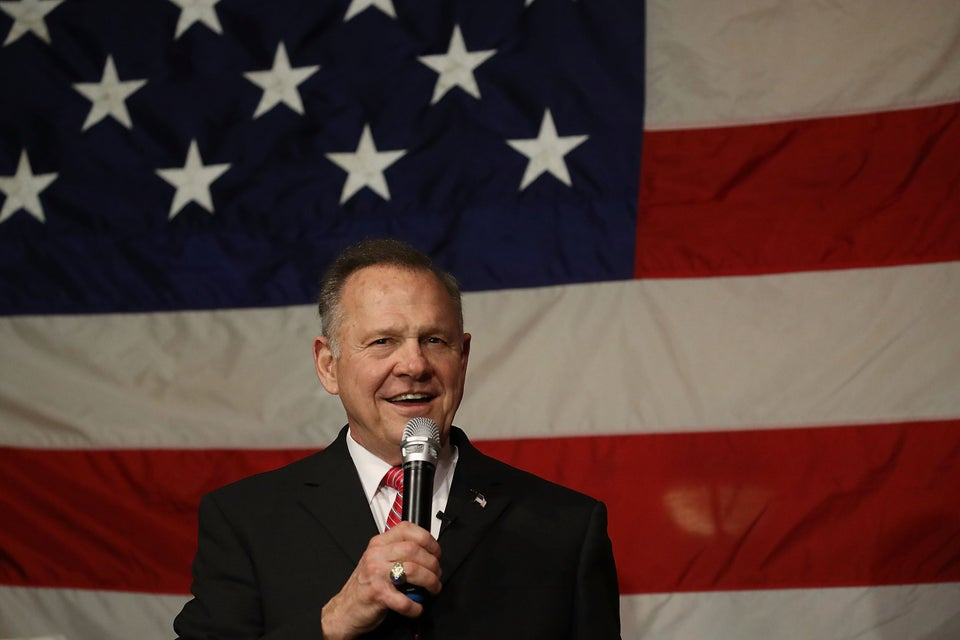 Roy Moore Told ABlack Man That America Was Great During Slavery