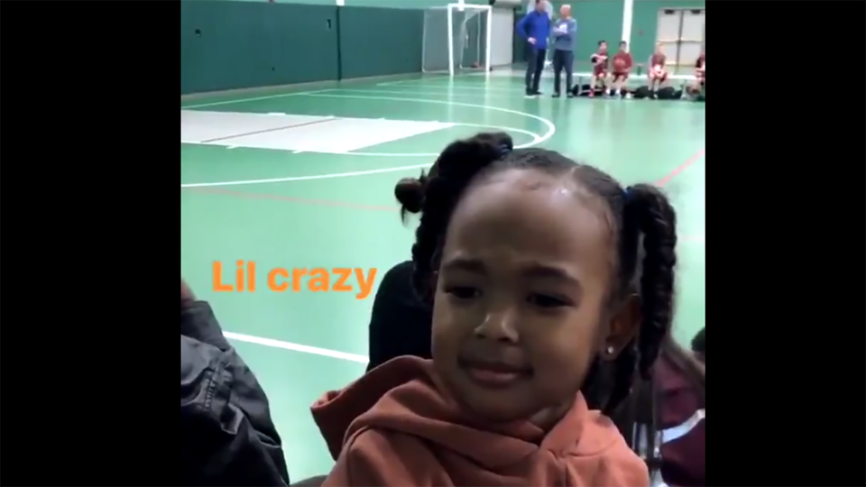 Like Father, Like Daughter: LeBron James' Daughter Impersonates Her Daddy Perfectly!