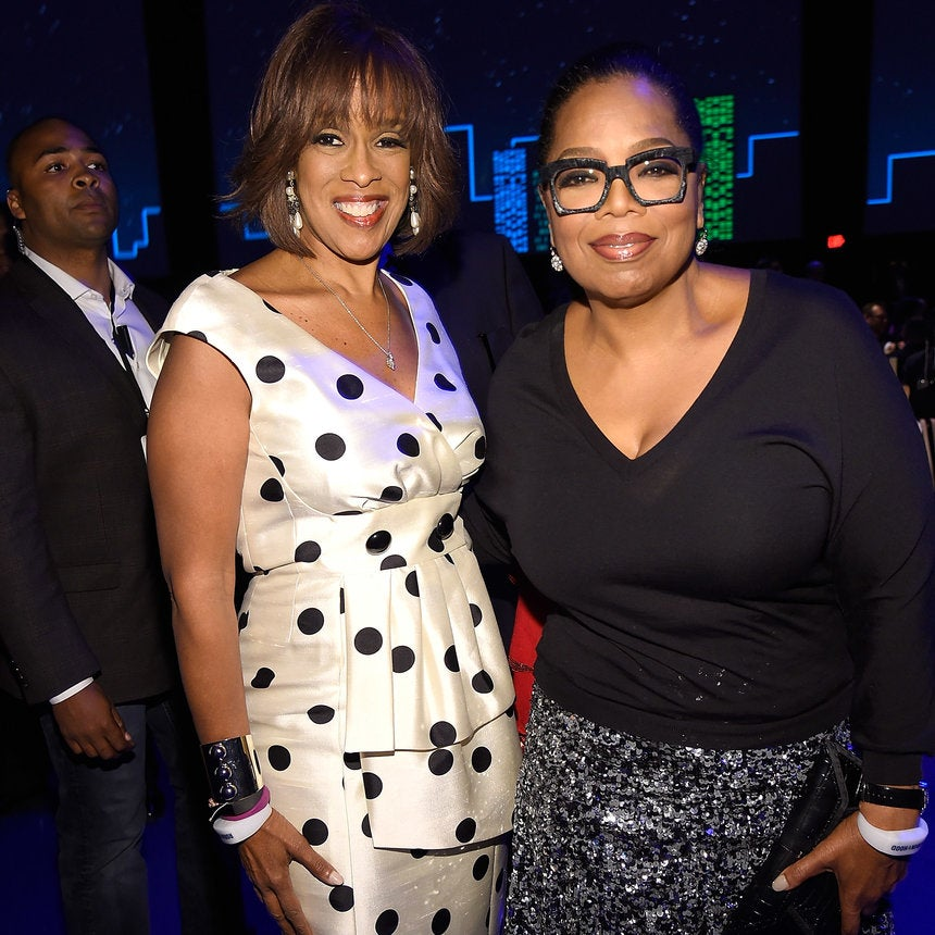 Oprah Throws BFF Gayle King An Intimate Dinner Party For Her 63rd Birthday
