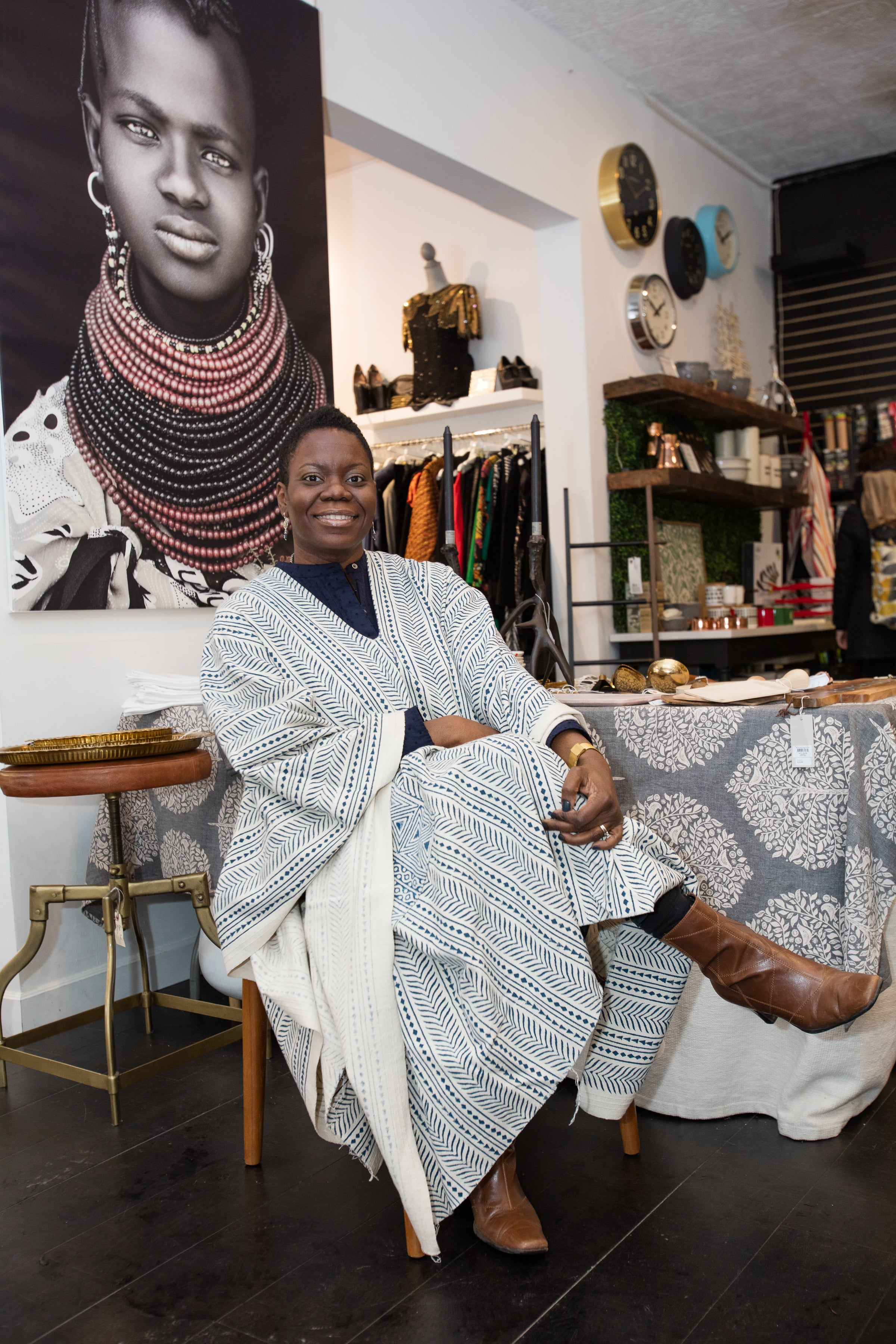 ESSENCE Boutique Boss profile of peace and RIOT founder Achuziam