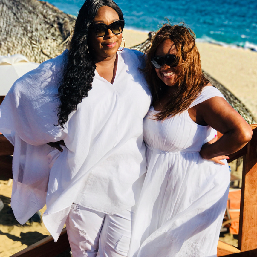 Besties Loni Love And Sherri Shepherd's Girls Trip In Mexico Was What Self-Care Is All About
