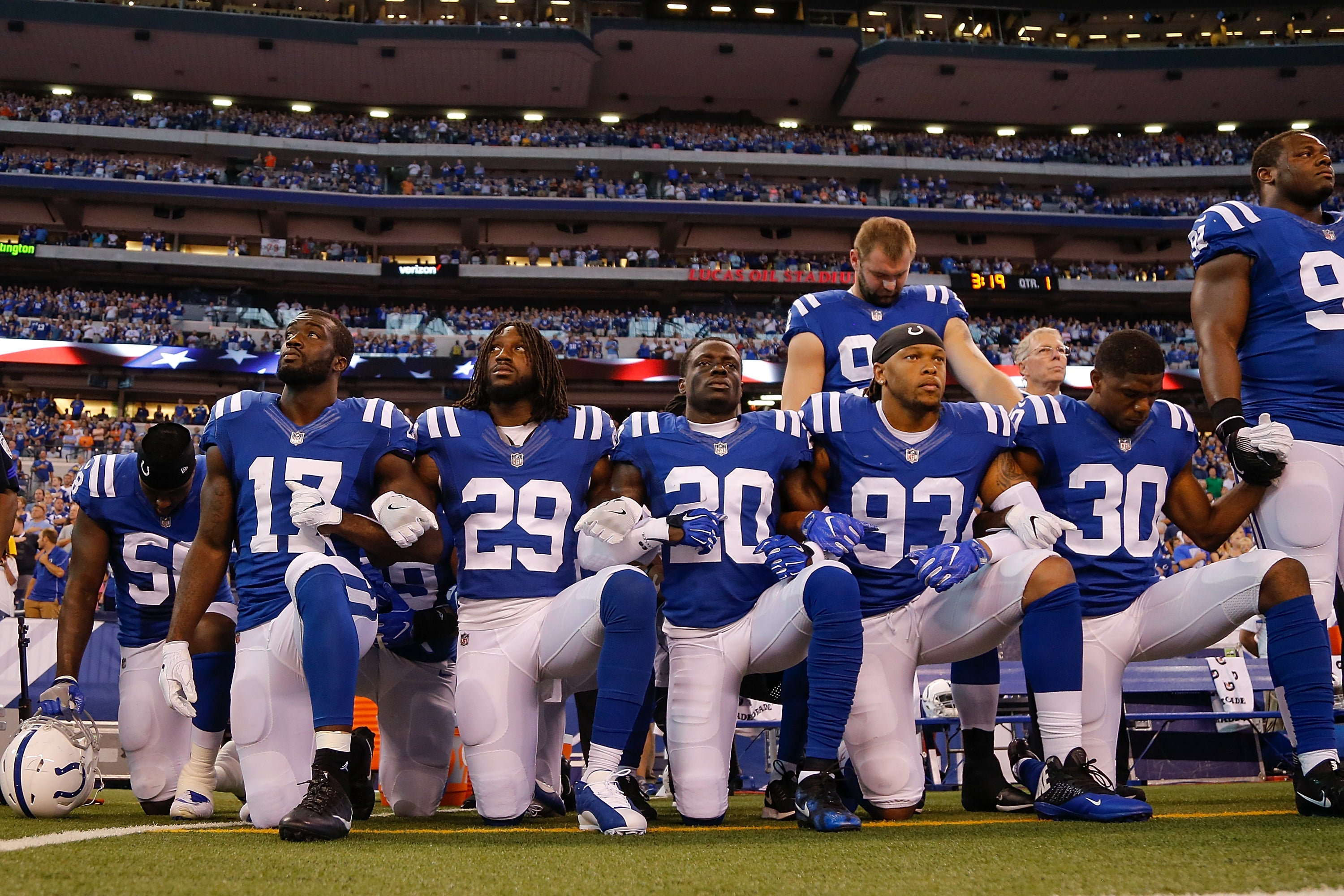 NFL Will Fine Players Who Kneel In Protest During National Anthem