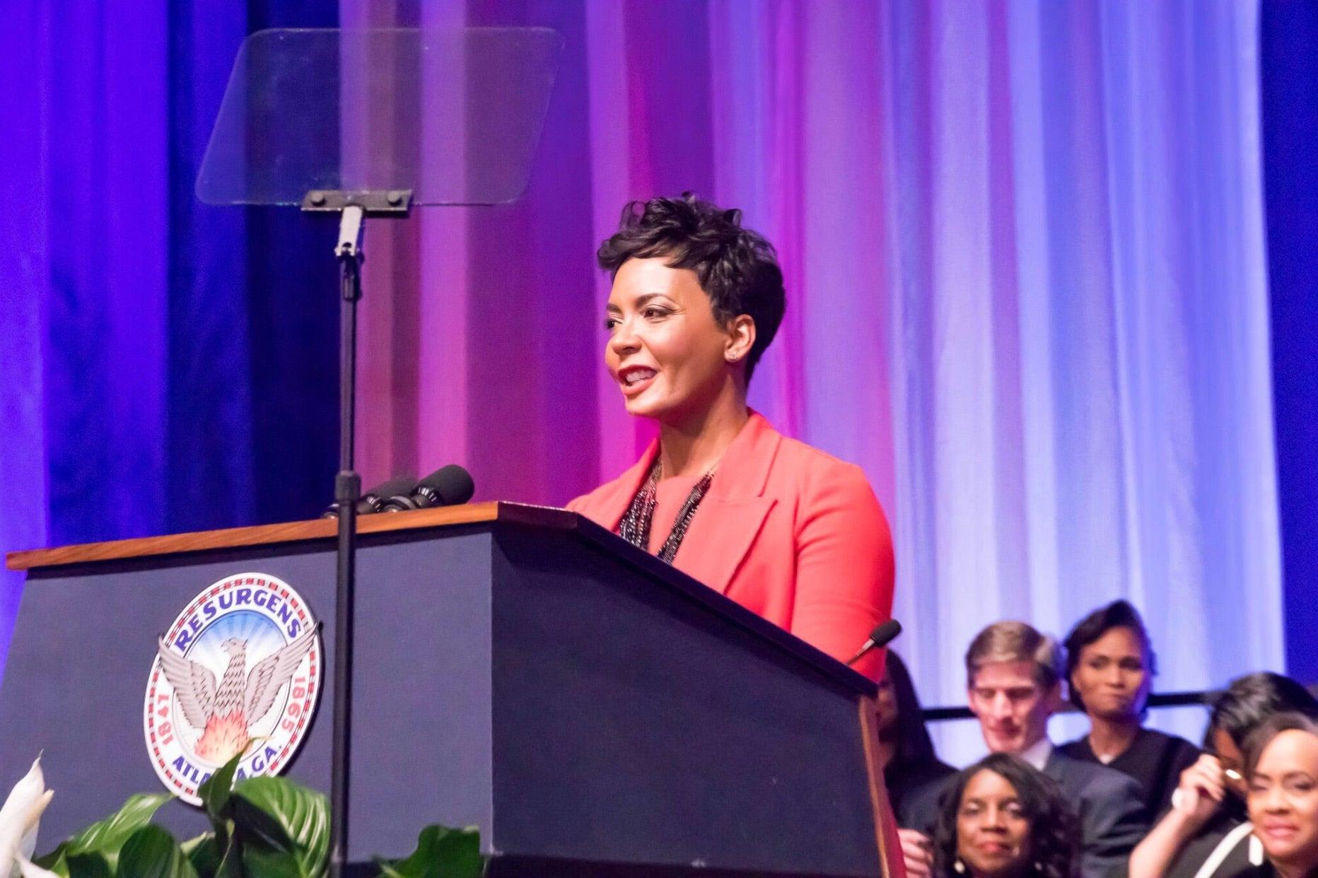 Atlanta Mayor Keisha Lance Bottoms Ex-Inmate Job-Training Program
