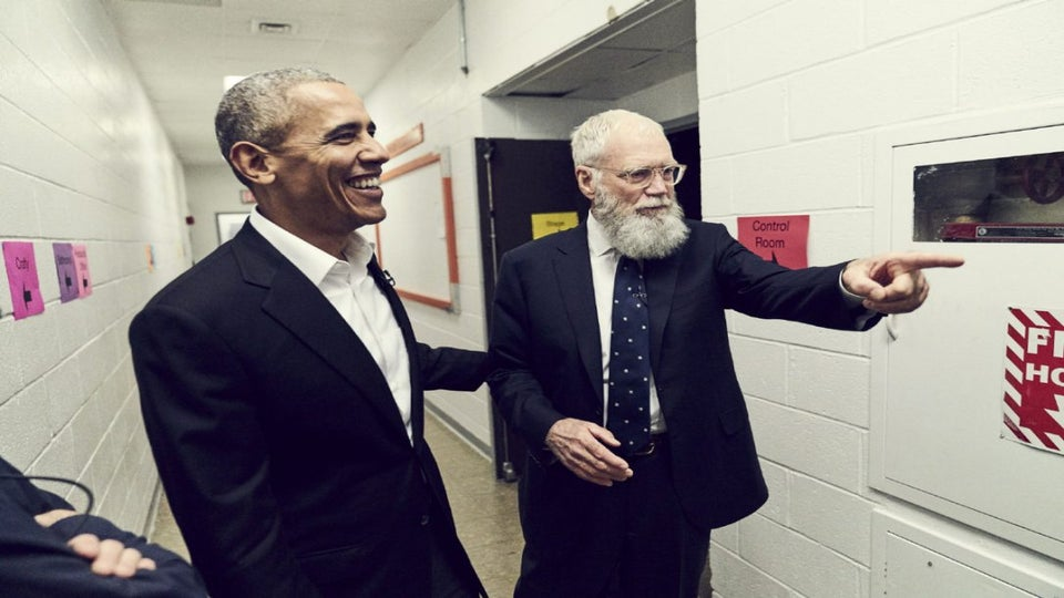 Former President Obama Will Be First Guest On David Letterman's New Netflix Show