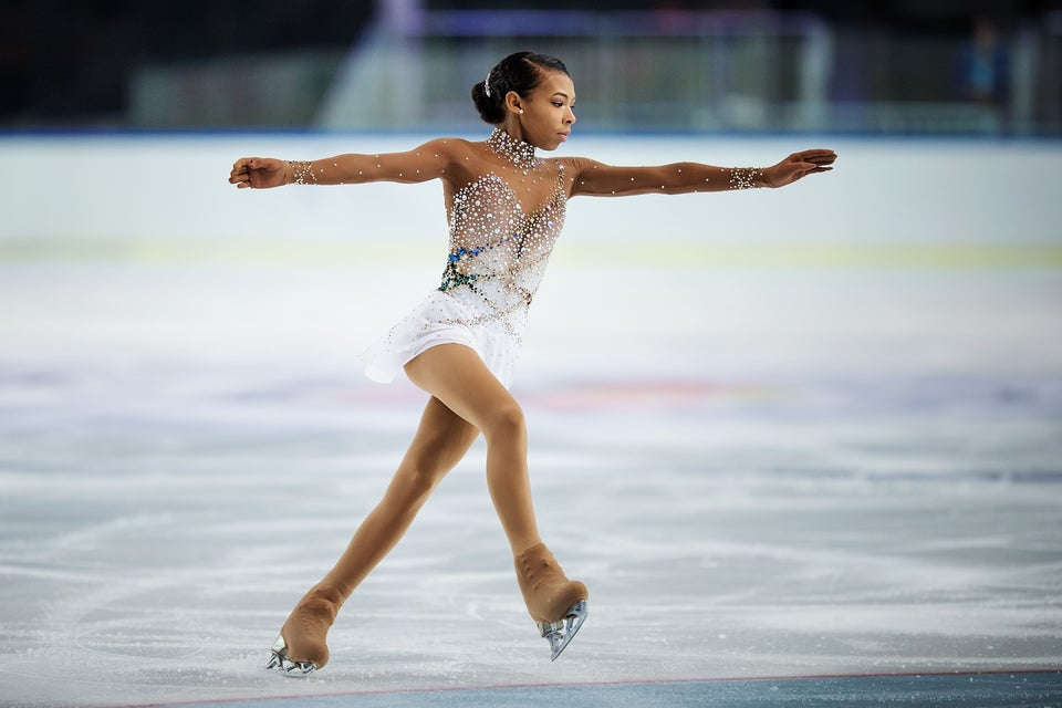 Teen Figure Skater Covers Whitney Houston's 'One Moment In Time' During National Championship Routine