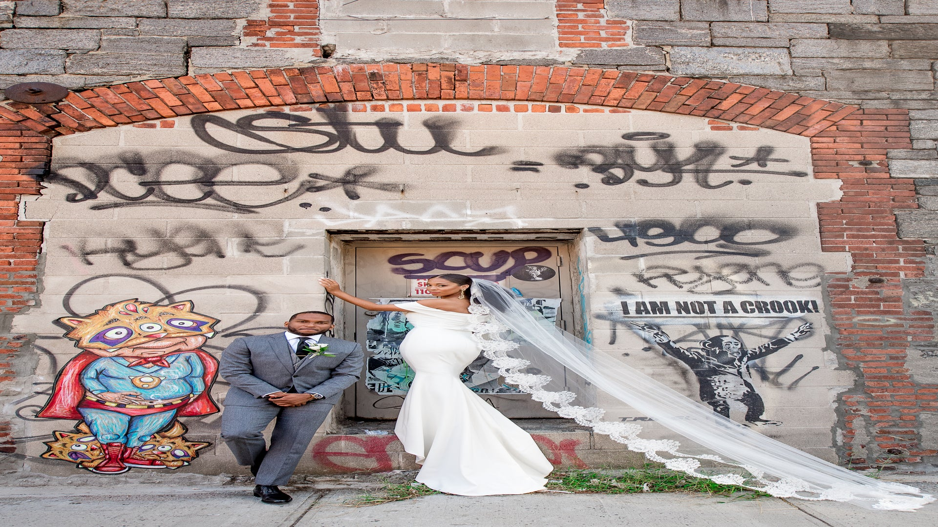 Bridal Bliss: Christin and Christina's Brooklyn Wedding Is The Perfect New York Love Story