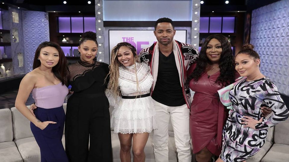 Meagan Good Shares Baby Plans With 'The Real' Co-Hosts