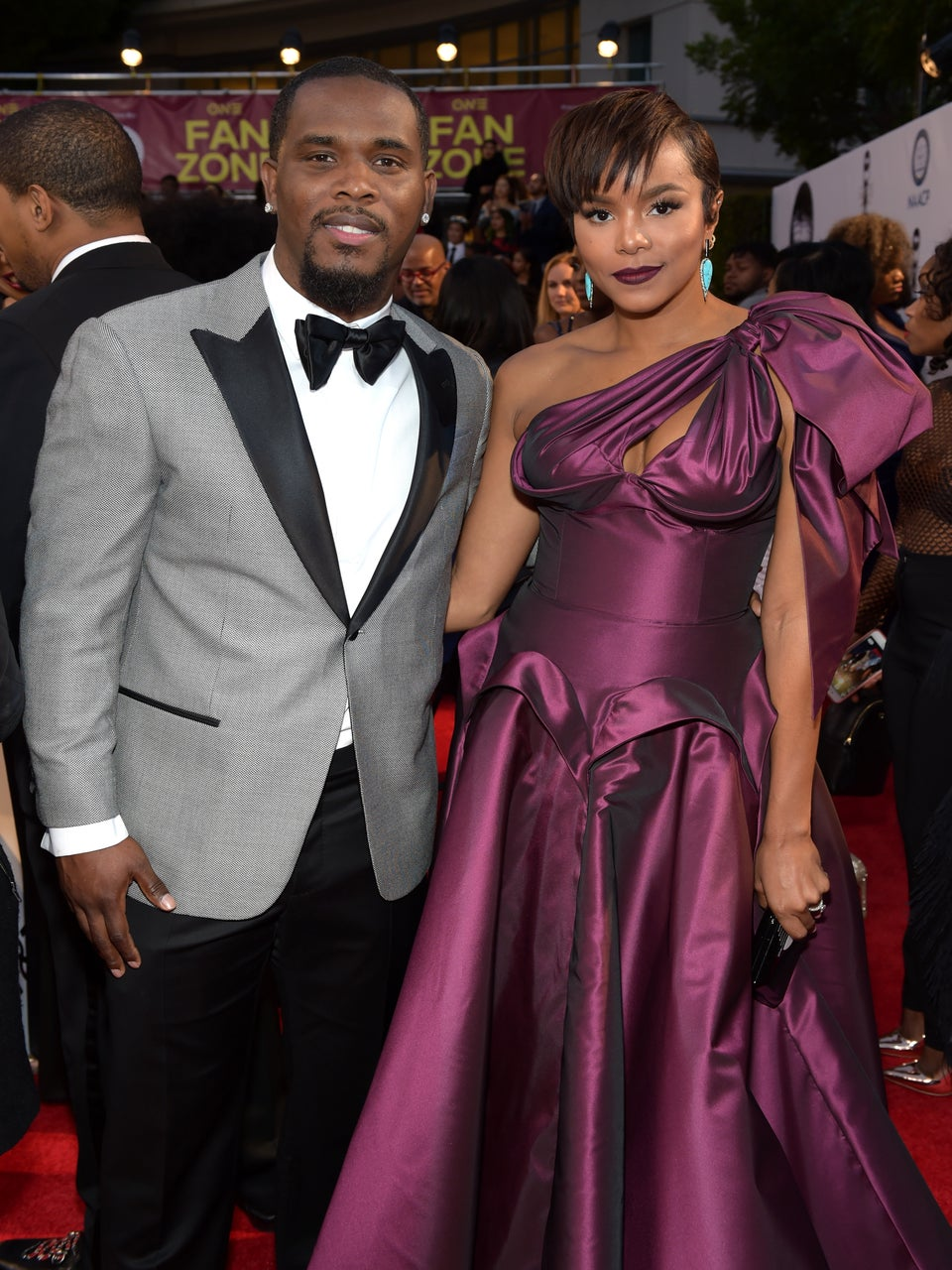 LeToya Luckett And Her New Husband Make First Red Carpet Appearance As Newlyweds at the NAACP Image Awards