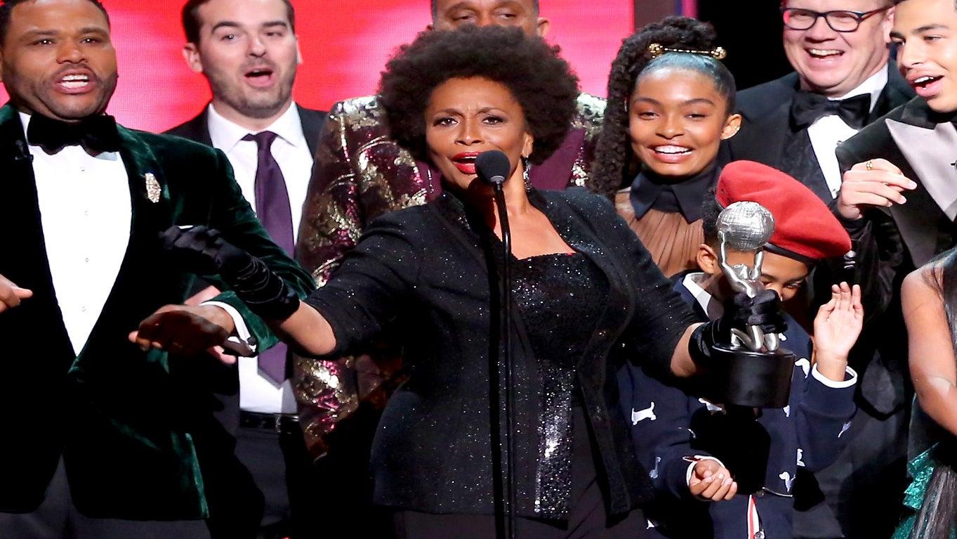 Jenifer Lewis Drops NAACP Image Trophy After Hilarious Speech