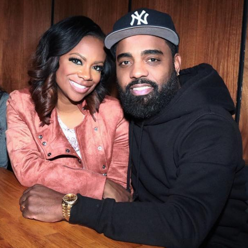 Kandi Burruss and Kenya Moore Double Date With Their Husbands In NYC