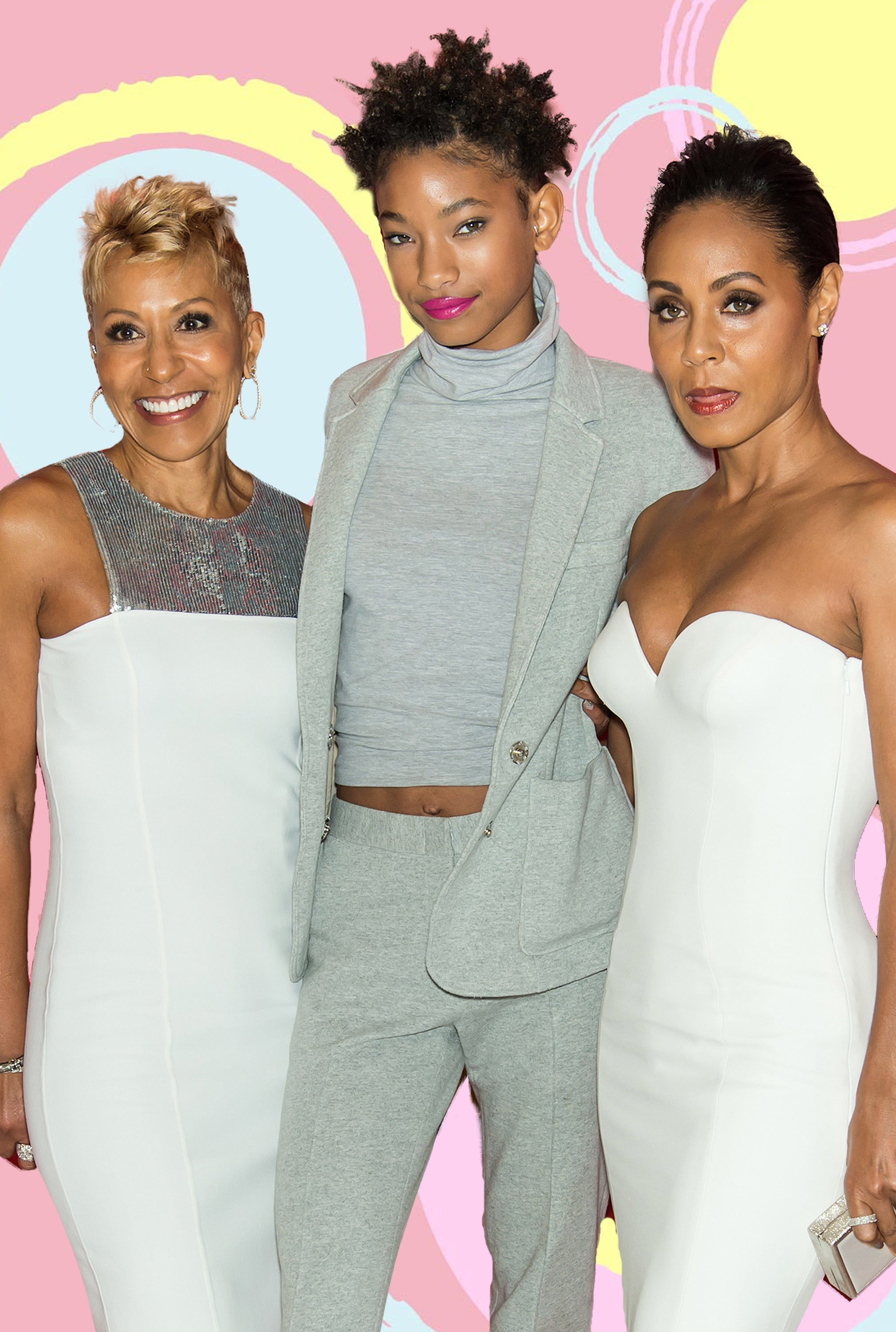 The Quick Read: Jada Pinkett Smith, Willow, And Jada's Mom Have Landed A Talk Show On Facebook