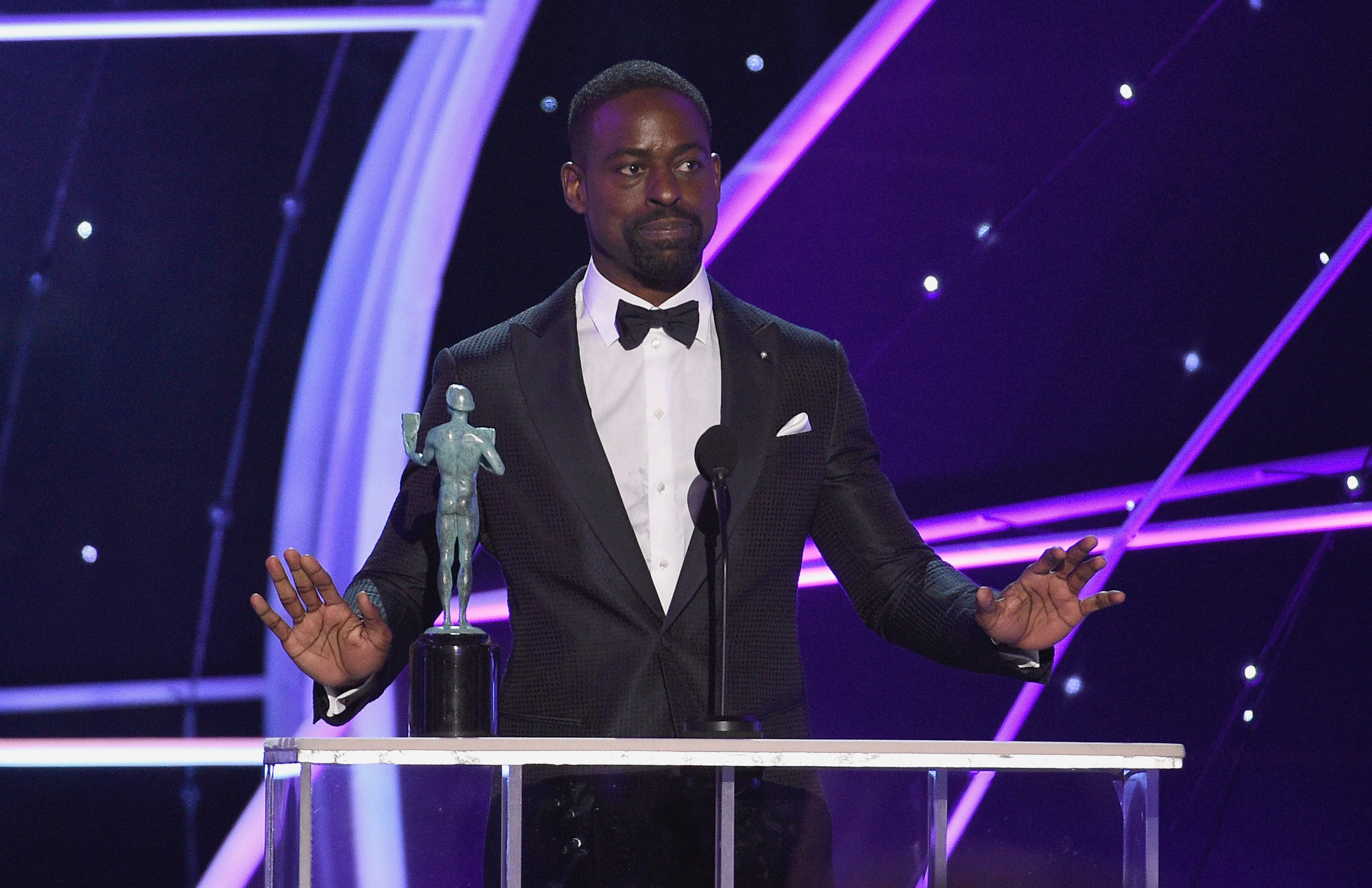 Sterling K. Brown Makes History Again With Win At SAG Awards