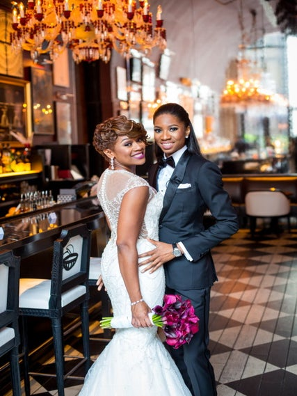 Black Wedding Moment Of The Day: Bride Surprises New Wife With Beyoncé-Inspired Dance At Their Reception