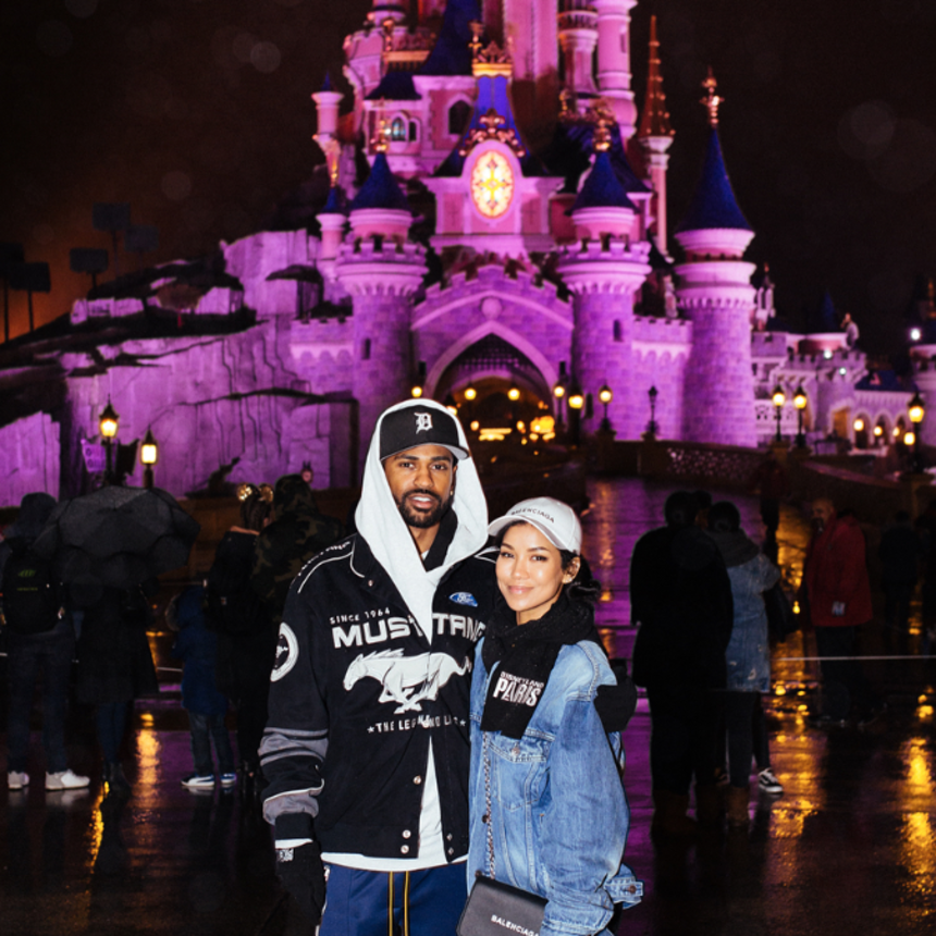 Lovebirds Big Sean And Jhene Aiko Are Out and About In Paris