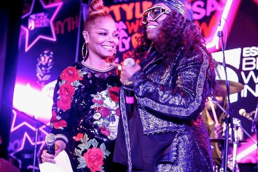 Janet Jackson Honors Missy Elliott At ESSENCE Black Women In ...