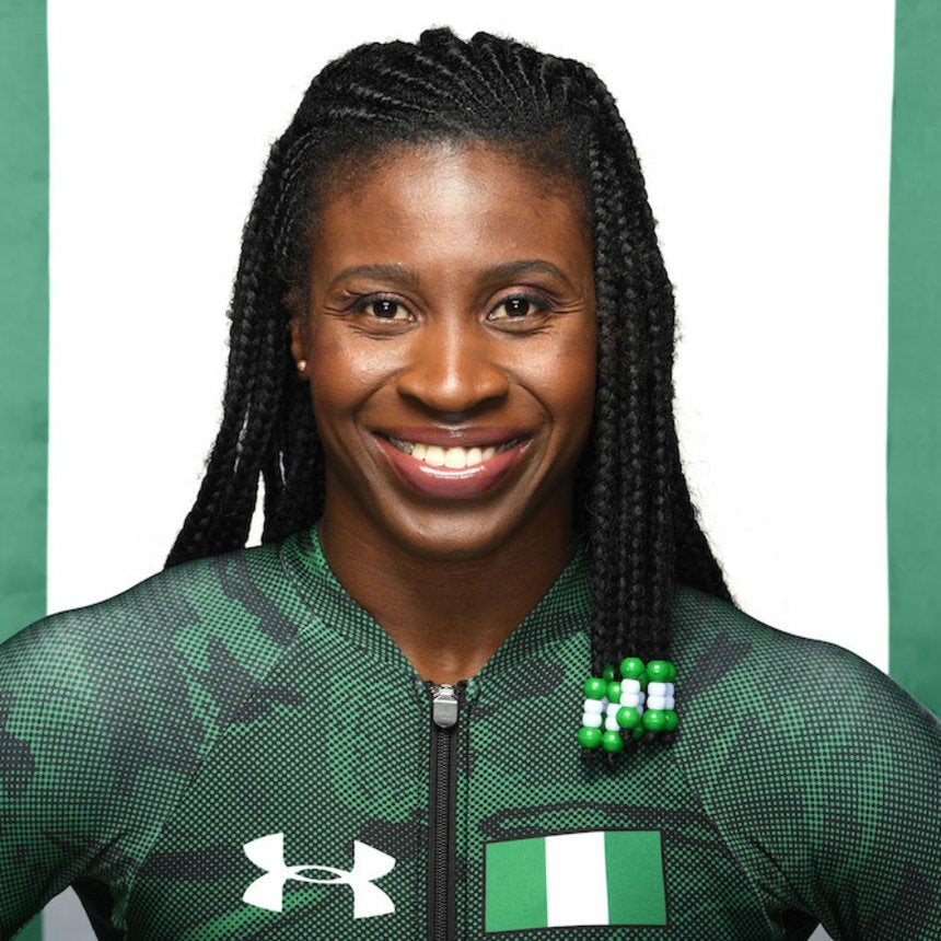 The 2018 Winter Olympics Welcomes Its First African Woman Skeleton Racer Simidele Adeagbo